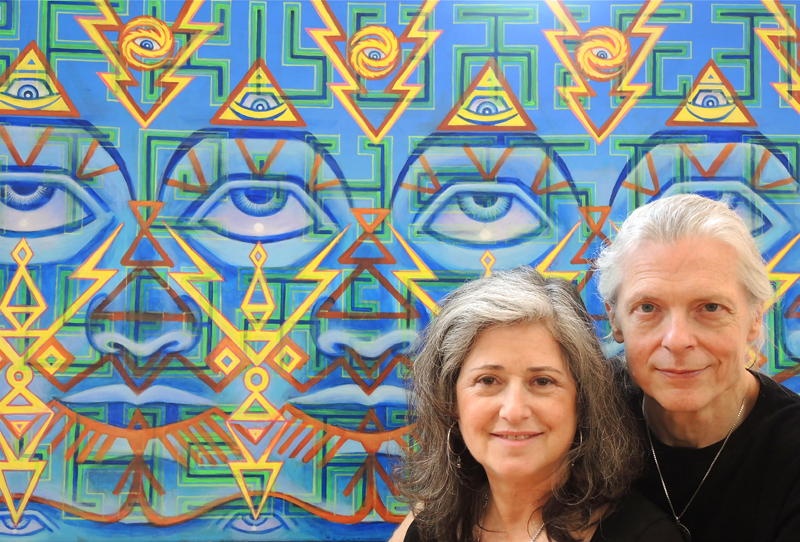 Alex Grey and Allyson Grey on Life Changes With Filippo - Radio Show #259