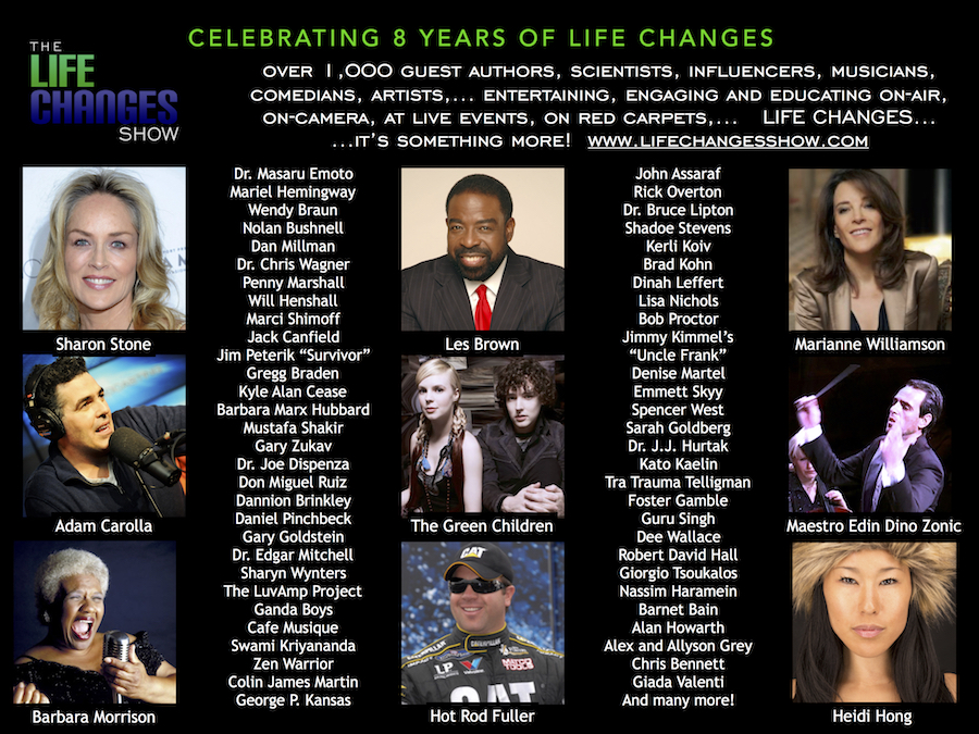 The LIFE CHANGES Show Celebrates 8 Years On-Air