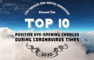 Top 10 Positive Eye-Opening Changes During Coronavirus Times, Presented by LIFE CHANGES and Vortex Immersion; and Musical Guest, Lauren Lugo - Show #576