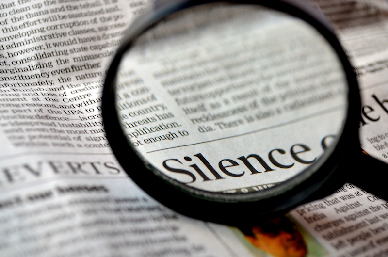 Silence and Business