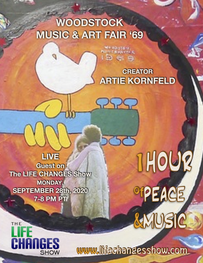 Happy Birthday to Woodstock Creator, Producer and Promoter Artie Kornfeld